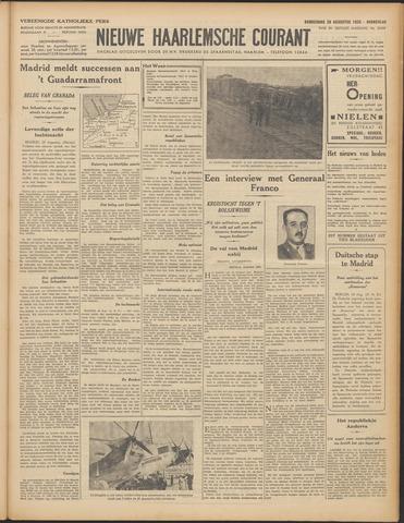 Nieuwe Haarlemsche Courant 1936-08-20