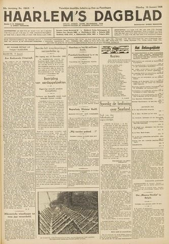 Haarlem's Dagblad 1935-01-15