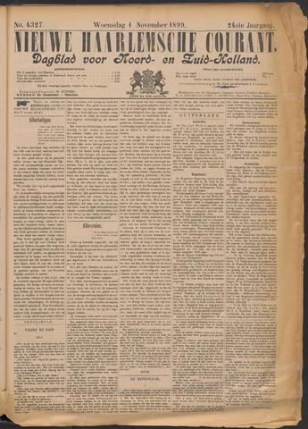 Nieuwe Haarlemsche Courant 1899-11-01