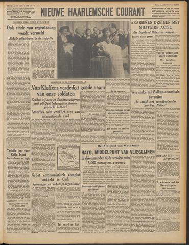 Nieuwe Haarlemsche Courant 1947-10-10
