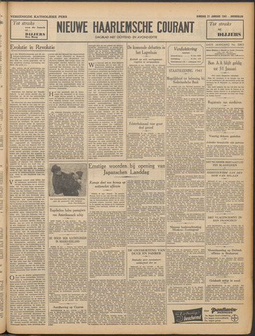 Nieuwe Haarlemsche Courant 1941-01-21