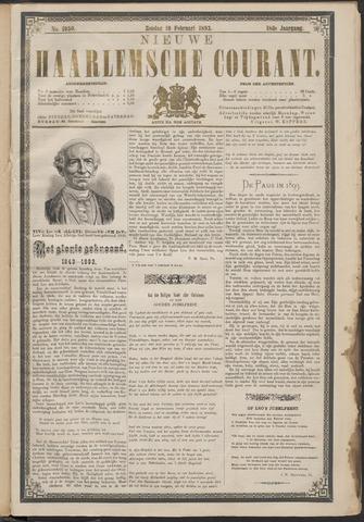 Nieuwe Haarlemsche Courant 1893-02-19