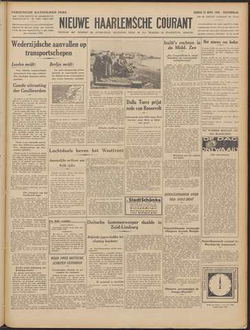 Nieuwe Haarlemsche Courant 1940-04-21