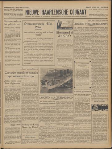 Nieuwe Haarlemsche Courant 1940-10-27