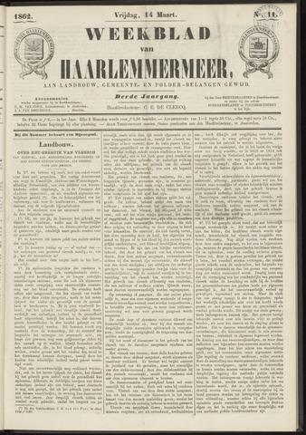 Weekblad van Haarlemmermeer 1862-03-14