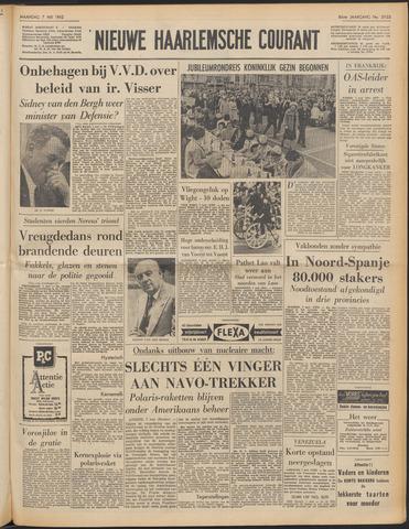 Nieuwe Haarlemsche Courant 1962-05-07