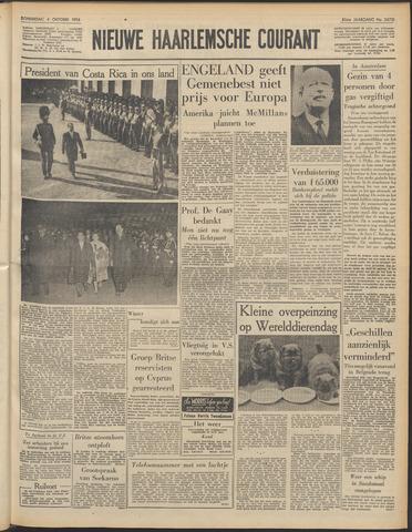 Nieuwe Haarlemsche Courant 1956-10-04