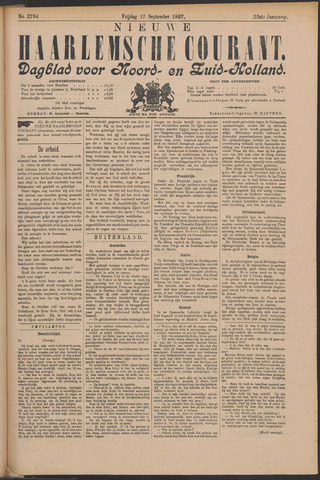 Nieuwe Haarlemsche Courant 1897-09-17