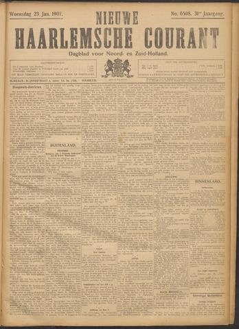 Nieuwe Haarlemsche Courant 1907-01-23