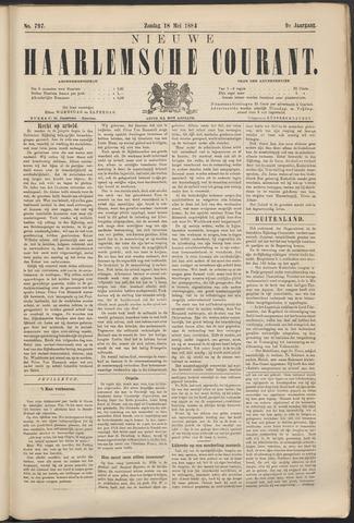Nieuwe Haarlemsche Courant 1884-05-18
