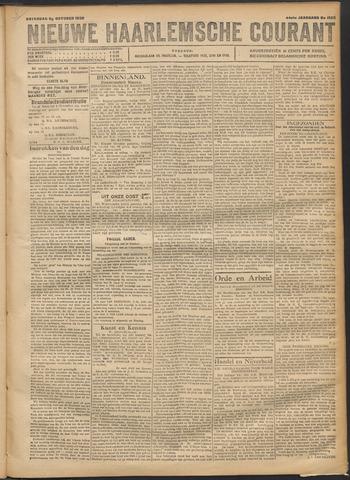 Nieuwe Haarlemsche Courant 1920-10-30