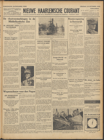 Nieuwe Haarlemsche Courant 1935-10-18