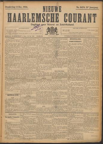 Nieuwe Haarlemsche Courant 1906-12-13