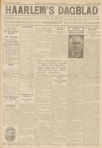 Haarlem's Dagblad 1926-03-02