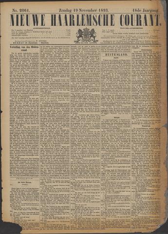 Nieuwe Haarlemsche Courant 1893-11-19