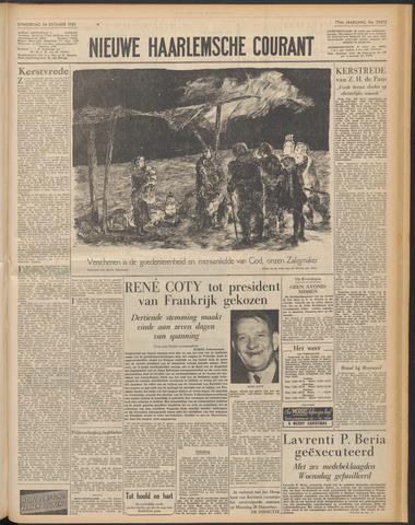 Nieuwe Haarlemsche Courant 1953-12-24