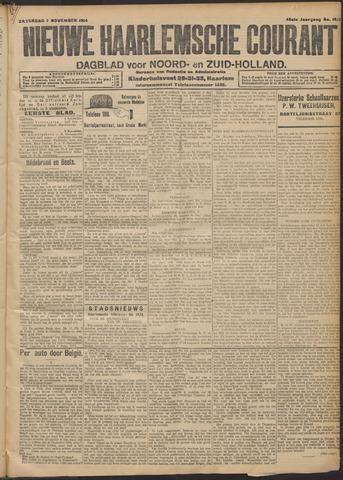 Nieuwe Haarlemsche Courant 1914-11-07