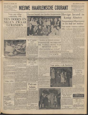 Nieuwe Haarlemsche Courant 1956-10-18