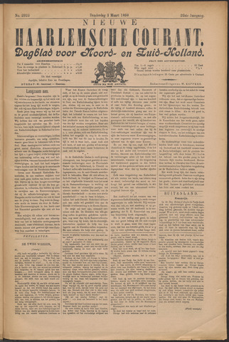 Nieuwe Haarlemsche Courant 1898-03-03
