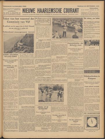 Nieuwe Haarlemsche Courant 1935-09-20