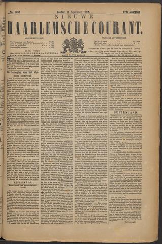 Nieuwe Haarlemsche Courant 1892-09-11