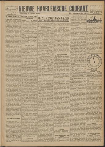 Nieuwe Haarlemsche Courant 1923-01-11