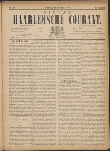 Nieuwe Haarlemsche Courant 1879-09-18