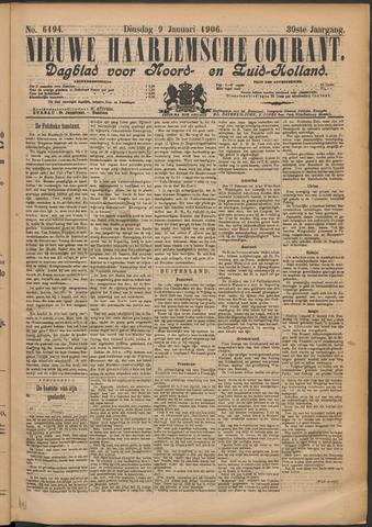 Nieuwe Haarlemsche Courant 1906-01-09