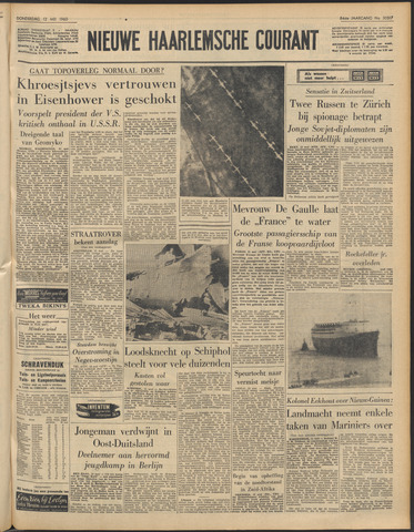 Nieuwe Haarlemsche Courant 1960-05-12