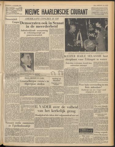 Nieuwe Haarlemsche Courant 1954-11-04