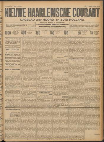 Nieuwe Haarlemsche Courant 1909-09-04