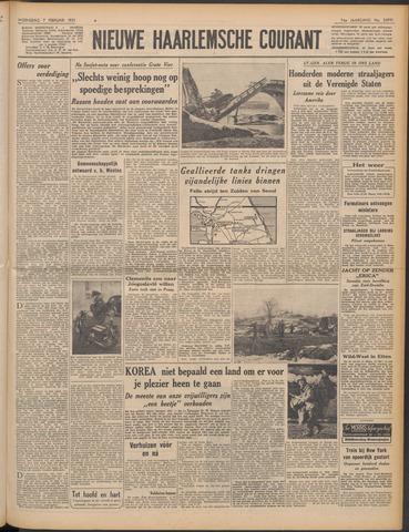 Nieuwe Haarlemsche Courant 1951-02-07