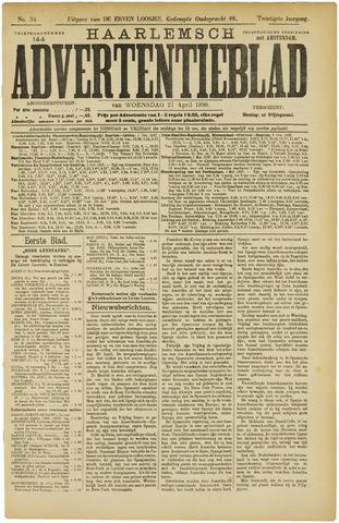 Haarlemsch Advertentieblad 1898-04-27