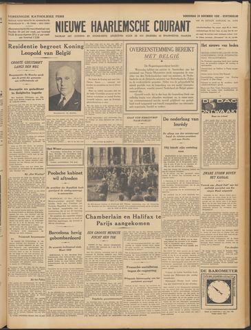 Nieuwe Haarlemsche Courant 1938-11-24
