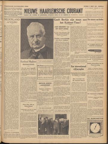 Nieuwe Haarlemsche Courant 1939-03-11