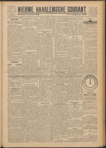 Nieuwe Haarlemsche Courant 1922-10-23