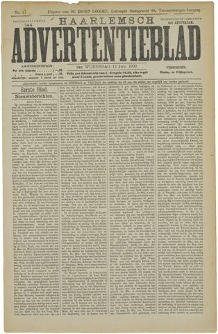 Haarlemsch Advertentieblad 1900-06-13