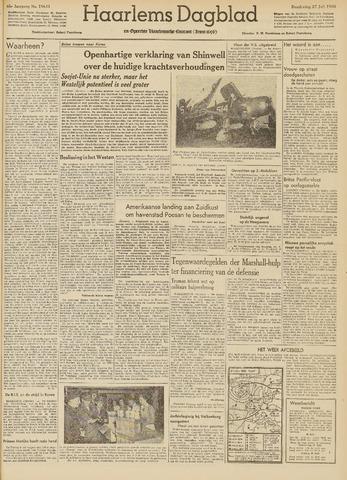 Haarlem's Dagblad 1950-07-27