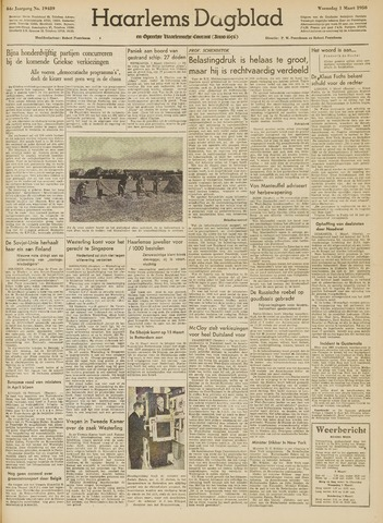 Haarlem's Dagblad 1950-03-01