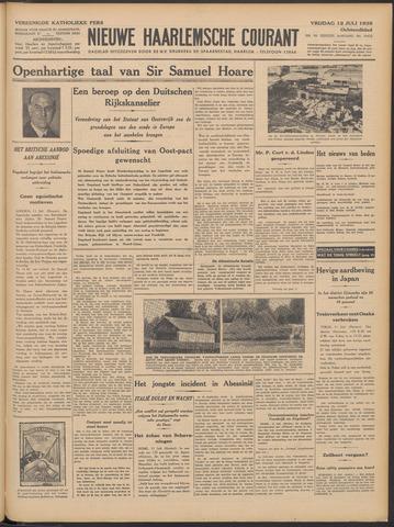 Nieuwe Haarlemsche Courant 1935-07-12