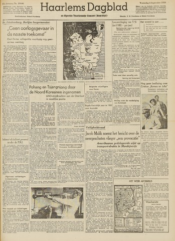 Haarlem's Dagblad 1950-09-06