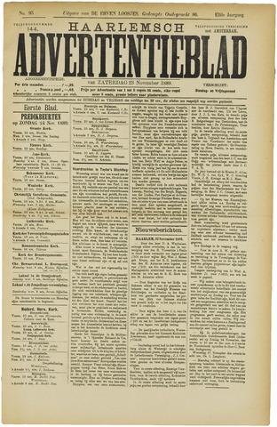 Haarlemsch Advertentieblad 1889-11-23