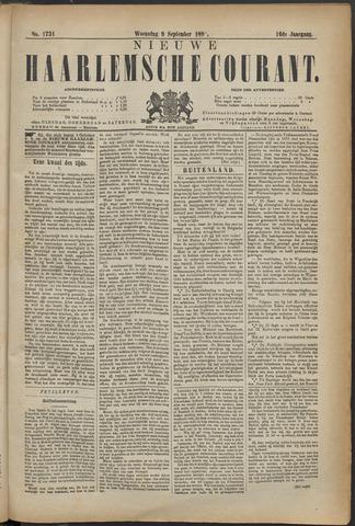 Nieuwe Haarlemsche Courant 1891-09-09