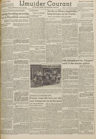 IJmuider Courant 1948-08-17