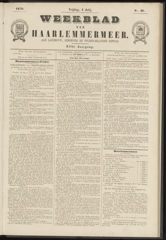 Weekblad van Haarlemmermeer 1870-07-01