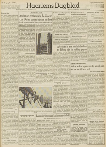 Haarlem's Dagblad 1947-10-31