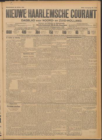 Nieuwe Haarlemsche Courant 1910-04-28