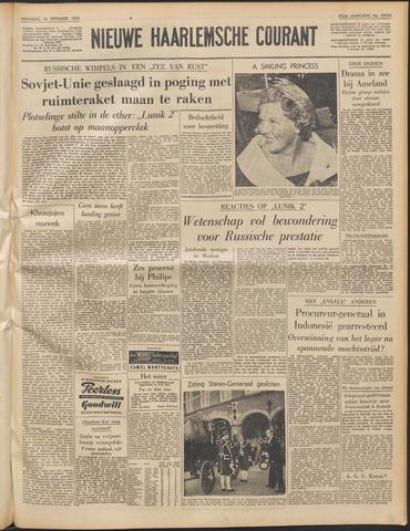 Nieuwe Haarlemsche Courant 1959-09-14
