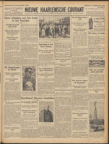 Nieuwe Haarlemsche Courant 1936-02-07