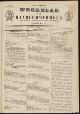 Weekblad van Haarlemmermeer 1874-12-04